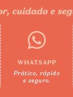 WhatsApp, prático, rápido e seguro.