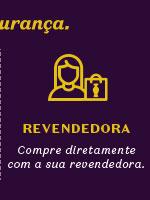 Por último, temos o título: Revendedora, compre diretamente com a sua revendedora!